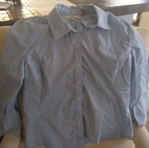 Baby Blue Dress Shirt